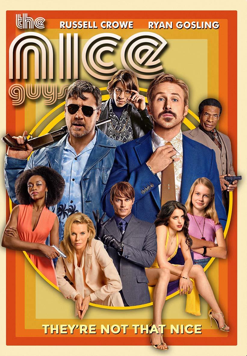 THE NICE GUYS 2621 - Vidéothéque THE BEATLES Ryan Gosling